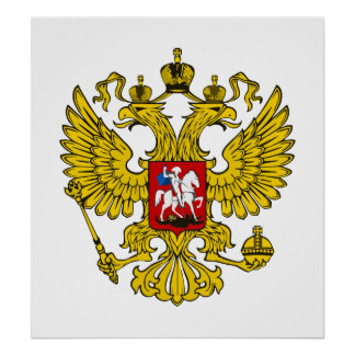 Russian Federation Eagle Poster