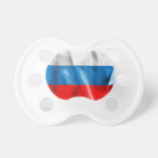 Russian Federation Flag BooginHead Pacifier
