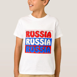 Russian Federation FLAG T-Shirt