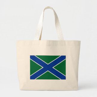 Russian Federation Frontier Guard Ensign Tote Bag