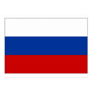 Russian Federation National Flag Postcard