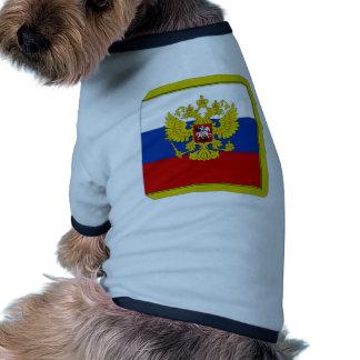 Russian Federation President Flag Doggie Tshirt