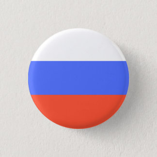 Russian Flag 3 Cm Round Badge