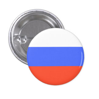 Russian Flag 3 Cm Round Badge