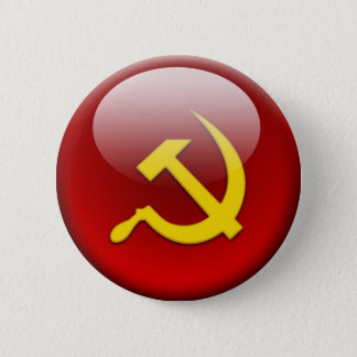 Russian Flag 6 Cm Round Badge