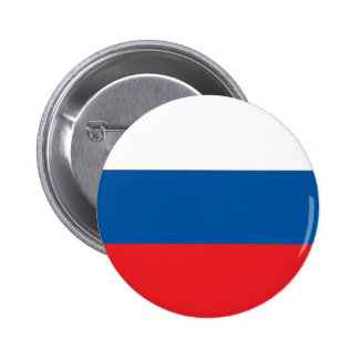 russian flag 6 cm round badge