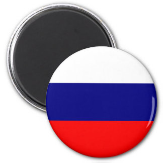 Russian Flag 6 Cm Round Magnet