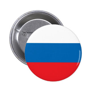 Russian Flag Pinback Buttons