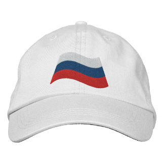 Russian Flag Embroidered Baseball Caps