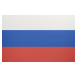 Russian Flag Fabric