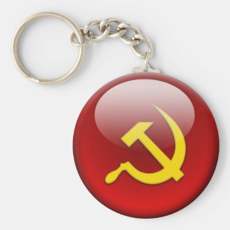 russian Flag Key Ring