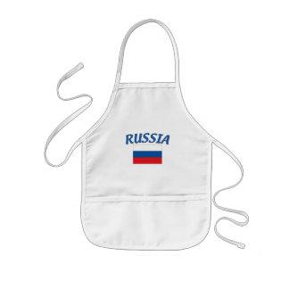 Russian Flag Kids Apron