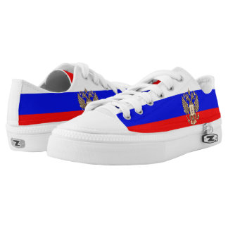 Russian flag low tops