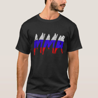 Russian Flag MMA T-Shirt