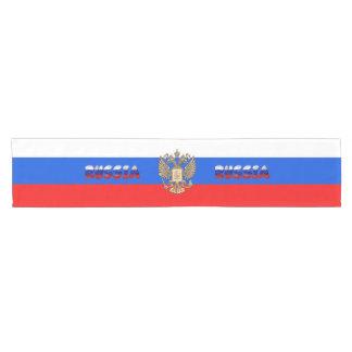 Russian flag short table runner