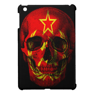 Russian flag skull iPad mini cover