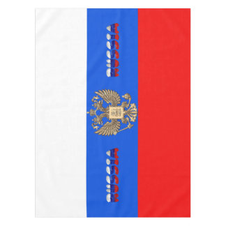 Russian flag tablecloth