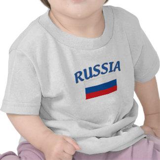 Russian Flag T Shirts