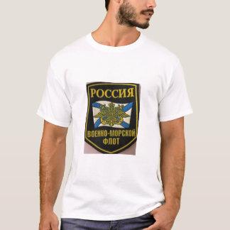 russian fleet flag naval emblem T-Shirt