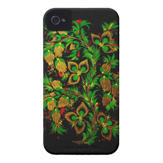 Russian folk art BlackBerry Case-Mate Case iPhone 4 Cover