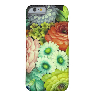 Russian Folks Art Flowers Barely There iPhone 6 Case
