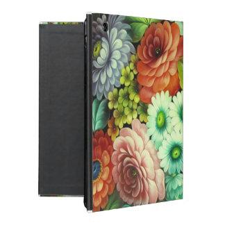 Russian Folks Art Flowers iPad Folio Case