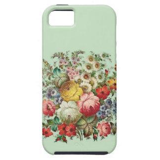Russian Folks Art Flowers Tough iPhone 5 Case