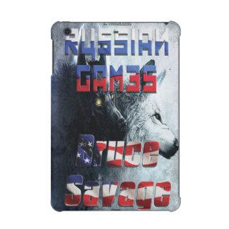 Russian Games iPad mini case.
