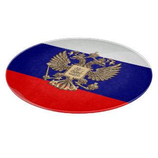 Russian glossy flag cutting board