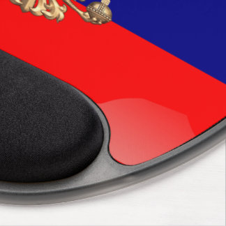 Russian glossy flag gel mouse pad