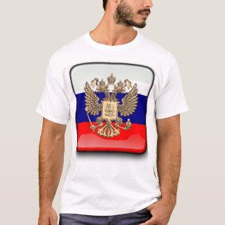 Russian glossy flag T-Shirt