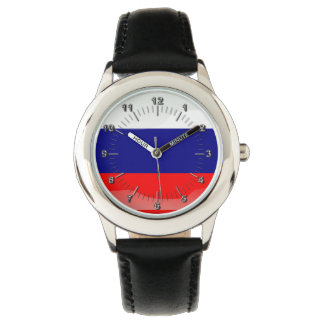 Russian glossy flag watches