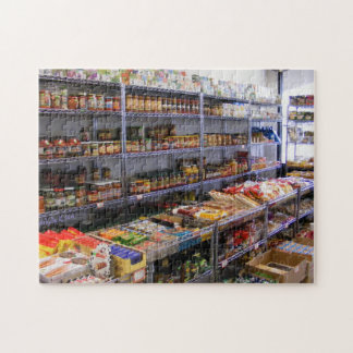 Russian Grocery Jars Jigsaw Puzzles