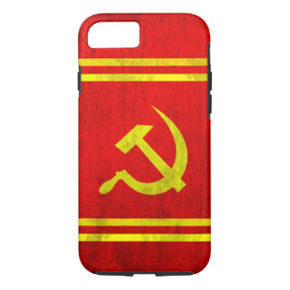 Russian Hammer and Sickle iPhone 7 Case