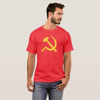 Russian Hammer and Sickle Men Dark T-Shirt