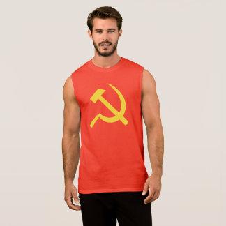 Russian Hammer and Sickle Men's Sleeveless T-Shirt