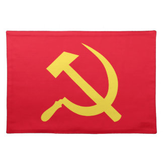 Russian Hammer and Sickle Placemats