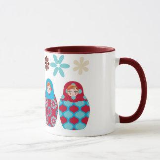 Russian headstock multico mug