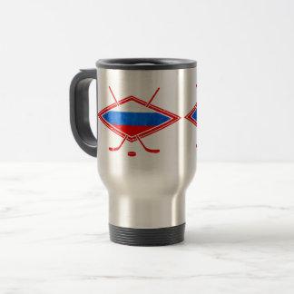 Russian Ice Hockey Flag Commuter Mug