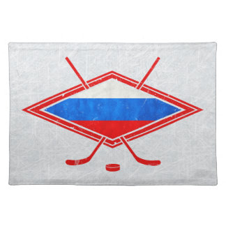 Russian Ice Hockey Place Setting Placemat