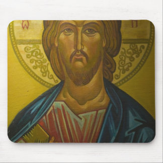 Russian Icon inside Church of St. Sophia / Mouse Pad