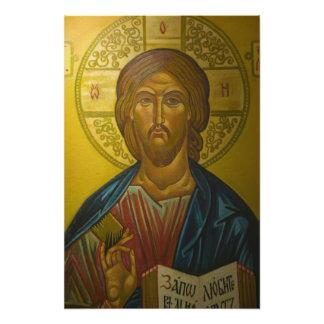Russian Icon inside Church of St Sophia Art Photo