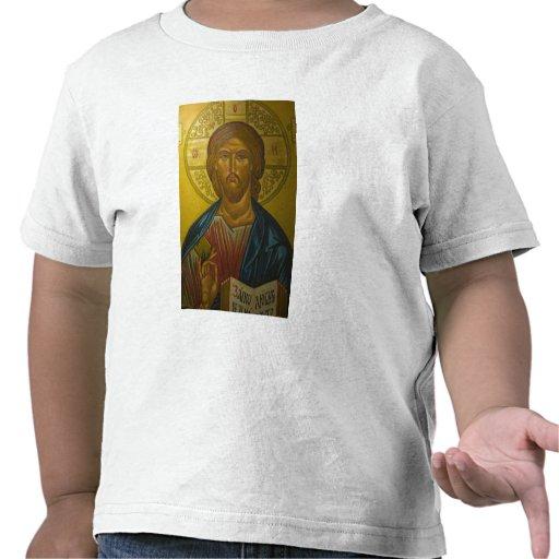 Russian Icon inside Church of St. Sophia / Tshirt