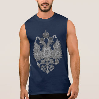 Russian Imperial Eagle Sleeveless Shirt