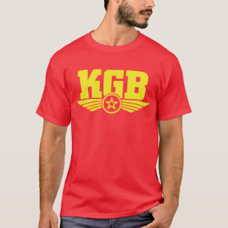Russian KGB Shirt Yellow/Red