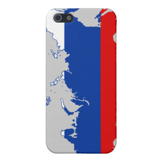 Russian Map/Flag iPhone 4 Case
