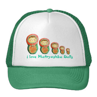 Russian Matryoshka Doll Trucker Hat