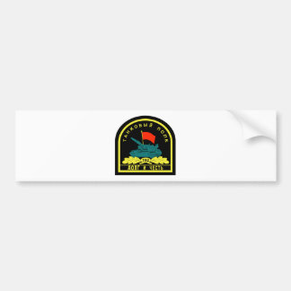 Russian military 152th Tank Regiment Duty and Hono Bumper Stickers