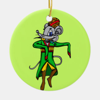 Russian Mouse Mice Ornament