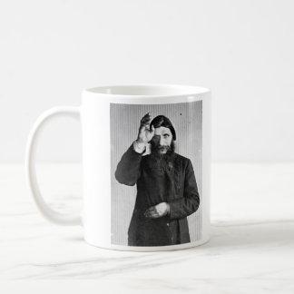 Russian Mystic Grigori Yefimovich Rasputin Basic White Mug